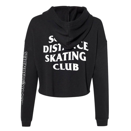 Social Distance Skating Club Cropped Hoodie