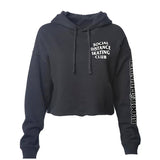 Social Distance Skating Club Cropped Pullover Hoodie