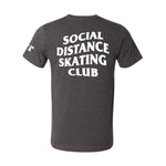 Social Distance Skating Club Gray T-Shirt