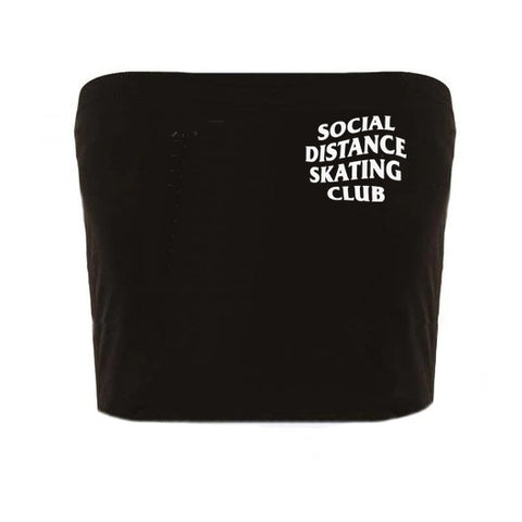Social Distance Skating Club Tube Top