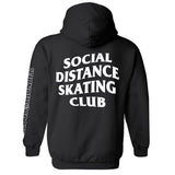 Social Distance Skating Club Pullover Hoodie