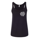 Social Distance Skating Club Tank Top