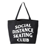 Social Distance Skating Club Jumbo Tote Bag