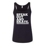 Speak Out and Skate Tank Top