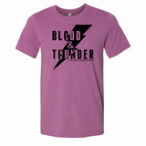 Blood & Thunder Bolt Purple T-Shirt
