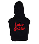 Later Skater Cult Women's Sleeveless Hoodie