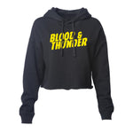 Blood & Thunder Mondo Women's Cropped Pullover Hoodie