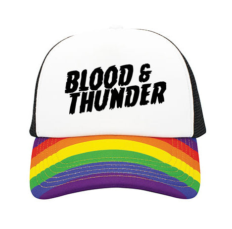 Mondo Rainbow Trucker Hat
