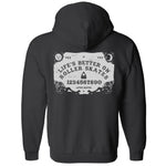 Ouija Zippered Hoodie (Wholesale)