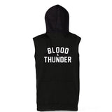 Blood & Thunder Signature Unisex Sleeveless Hoodie