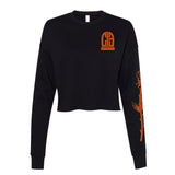CIB Crew Commitment Issues Women's Cropped Crewneck Sweatshirt