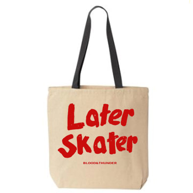 Later Skater Cult Tote Bag
