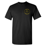 Luzer Apparel Head Up Heart Out Black T-Shirt