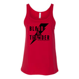Blood & Thunder Bolt Tank Top