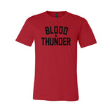 Blood & Thunder Signature Red T-Shirt or Crop Top