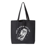 Bury Me With My Skates On Jumbo Tote Bag (Wholesale)