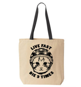 9 Lives Tote Bag (Wholesale)