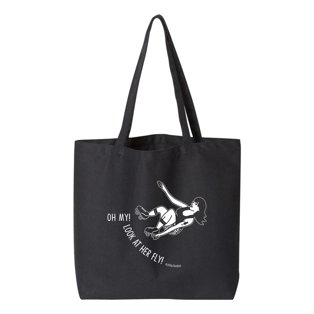 8f05e6aba Oh My Look At Her Fly Jumbo Tote Bag – Blood & Thunder