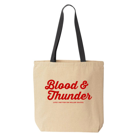 Blood & Thunder Dolly Tote Bag