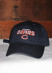 "Hat Bears Navy Blue ""Chicago Bears"" and ""C"" Logo"