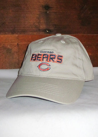 "Hat Bears Tan ""Chicago Bears"" and ""C"" Logo"