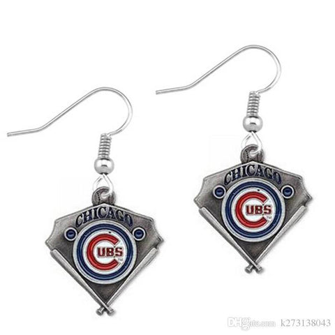 Chicago Cubs Earings