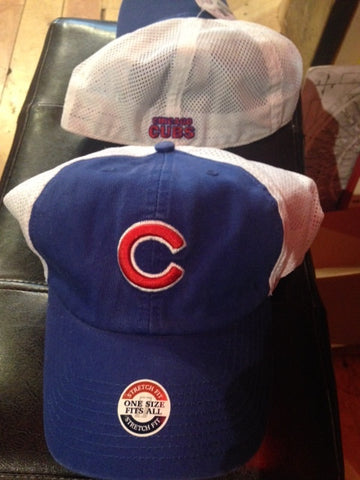 Chicago Cubs mesh flex fit hat