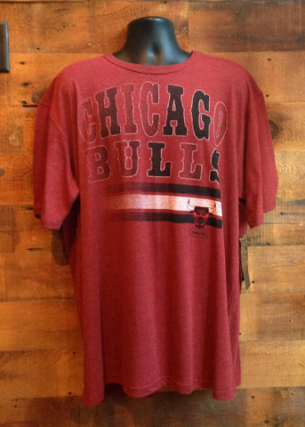 Men's T-Shirt Chicago Bulls Meshy Dark Red