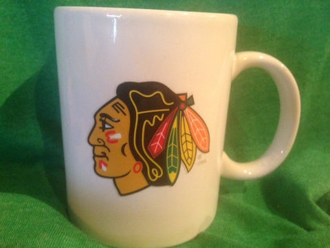 Coffee Mug Chicago Blackhawks