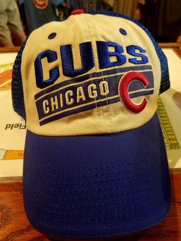 Chicago Cubs Trucker Style