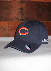 "Hat Bears Navy Blue with Orange C"" Logo"