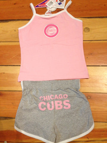 Chicago Cubs Youth Girls 2 pc Combo