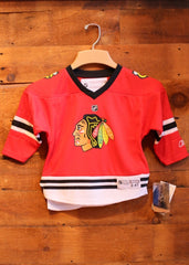 Youth Jersey Chicago Blackhawks Red with No Name on Back