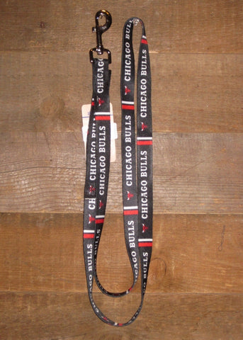 Pet Leash 6ft Chicago Bulls