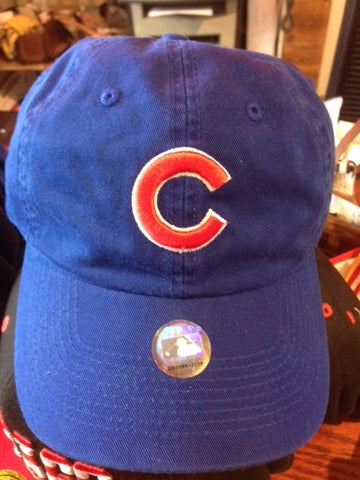 Adjustable Blue Chicago Cubs Cap