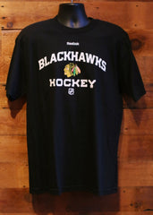Men's T-Shirt Chicago Blackhawks Hockey Black