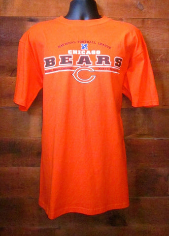 Men's T-Shirt Chicago Bears Football Orange NFL