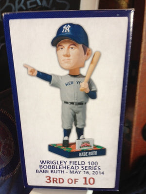 Babe Ruth 1930s Called Shot Bobblehead