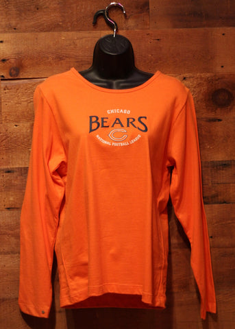 Women's Long Sleeve T-Shirt Chicago Bears Orange