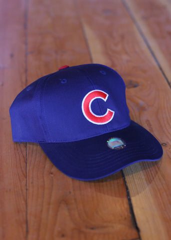 Youth Chicago Cubs Dark Blue with Red C