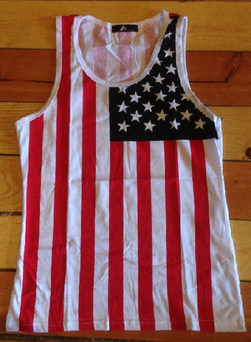 Tank top Men's American flag