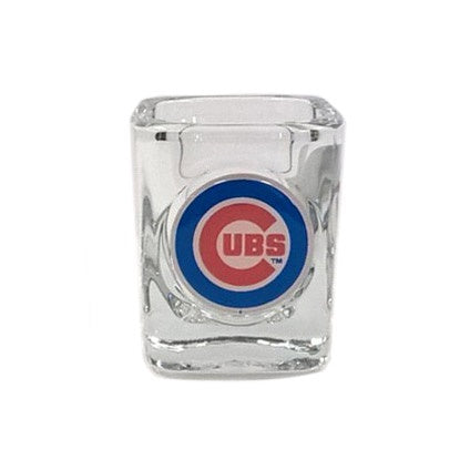 Chicago Cubs Square Shot Glass