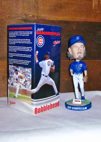 Chicago Cubs Jeff Samardzija Bobblehead