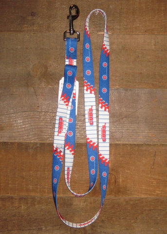 Pet Leash 6ft Chicago Cubs