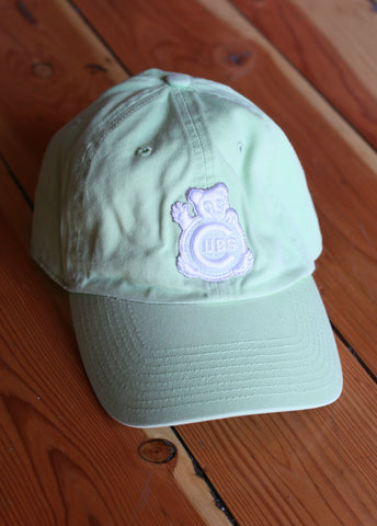 Women's Chicago Cubs Light Green
