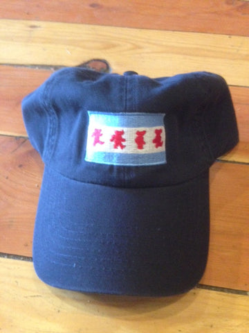 Chicago Dancing Bear Flag Hat