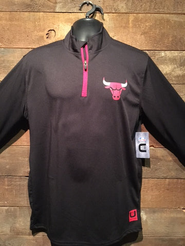 Chicago Bulls Half Zip Sweater