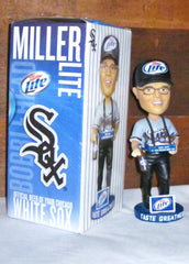 "Chicago White Sox Miller Lite Beer Vendor ""Taste Greatness"" Beer Vendor Bobblehead"