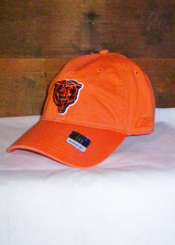 Hat Bears Orange with Navy Blue and Orange Bear Head Logo