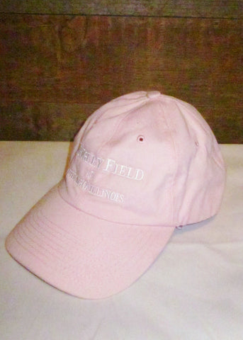 "Hat Women's Cubs Pink with ""Wrigley Field Chicago, Illinois"""